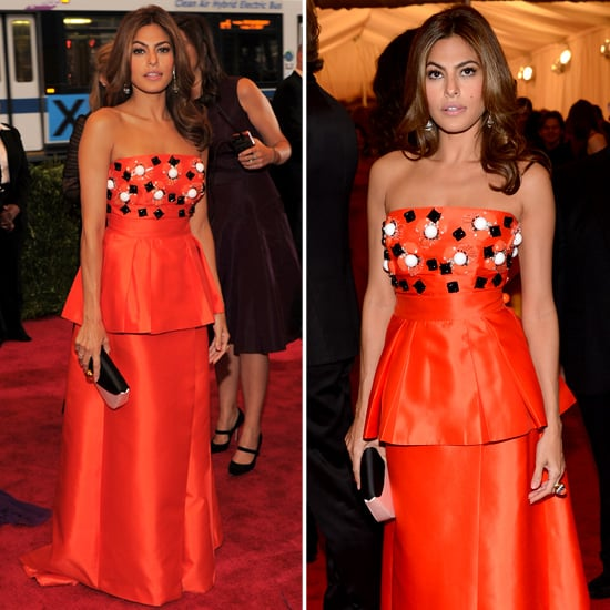 Eva Mendes at Met Gala 2012