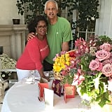 """Oprah Winfrey showed off her Valentine's Day bouquets and cards """"from Stedman and the pups."""""""