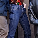 Victoria Beckham Wearing Jeans in NYC