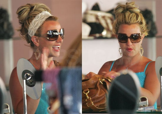 Britney and Mel Share Some Quality Stogie Time