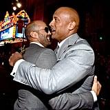 Jason Staham and Dwayne The Rock Johnson