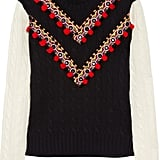 We're in love with this Moroccan-inspired wool sweater; wear it with jeans or dress it up with a leather mini. Altuzarra Venise Cable-Knit Wool Sweater ($1,125)