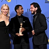 Pictured: Emilia Clarke, Aziz Ansari, and Kit Harington