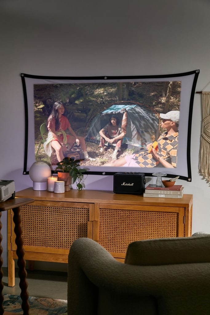 For the Movie Buff: Packard Bell Home Theater Projector and Screen Set
