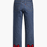 Levi's x Hello Kitty Ribcage Straight Ankle Jeans