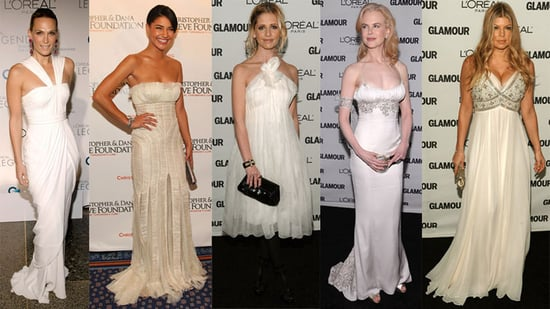 Which Lady in White Is Most Fab?