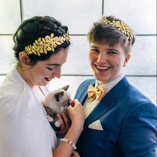 Couple Has Kitten Hour at Their Wedding