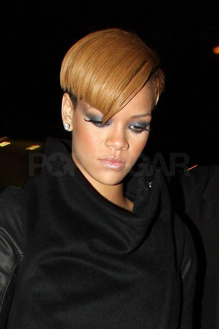rihanna hair style photos of lively and rihanna at snl wrap 6140