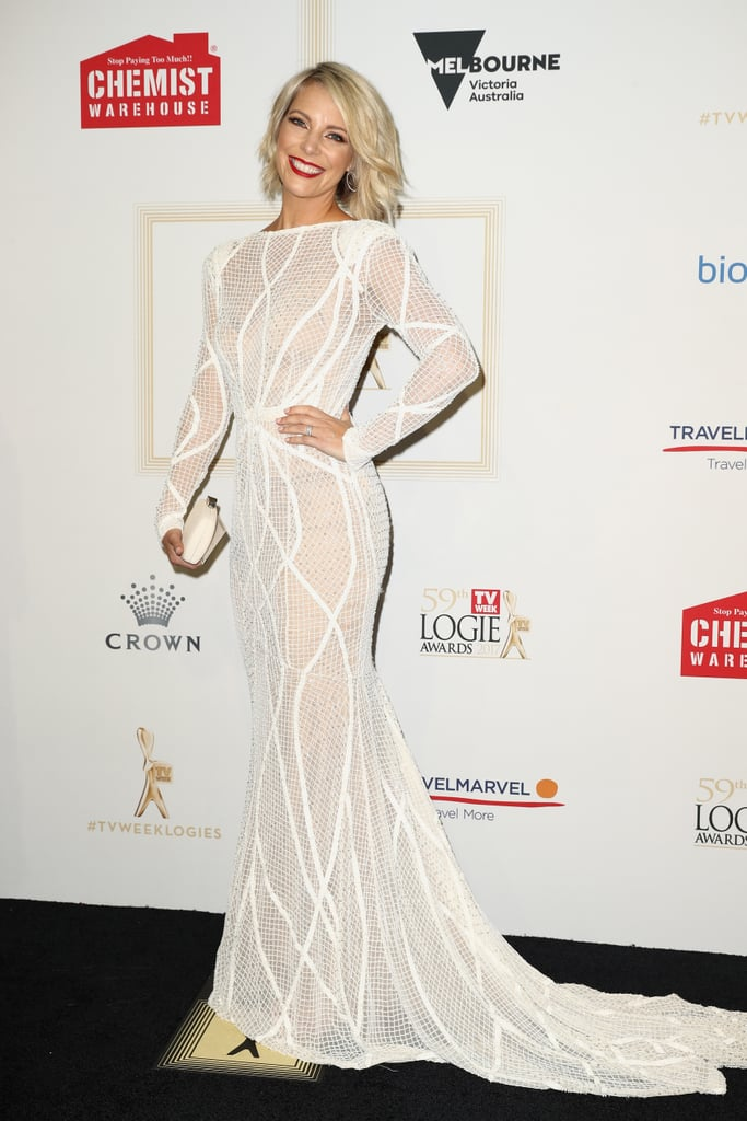 Logies Red Carpet Dresses Pictures 2017 Popsugar Fashion