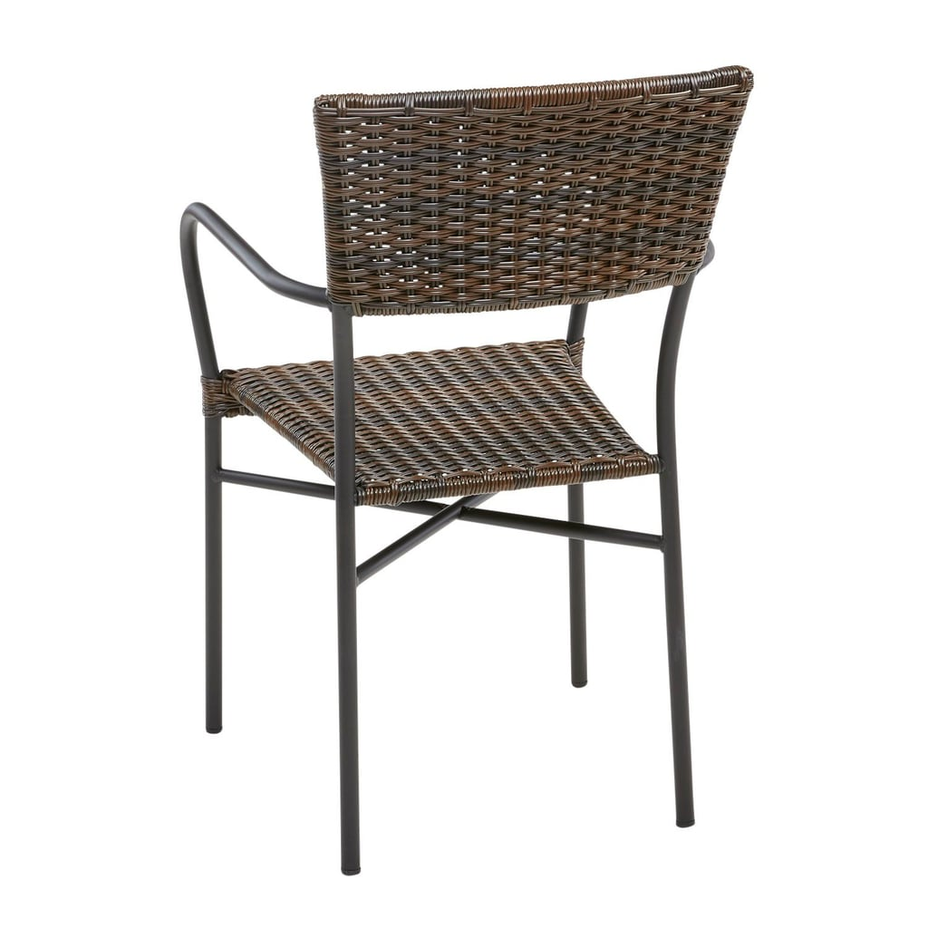 Del Rey Mocha Stacking Chair