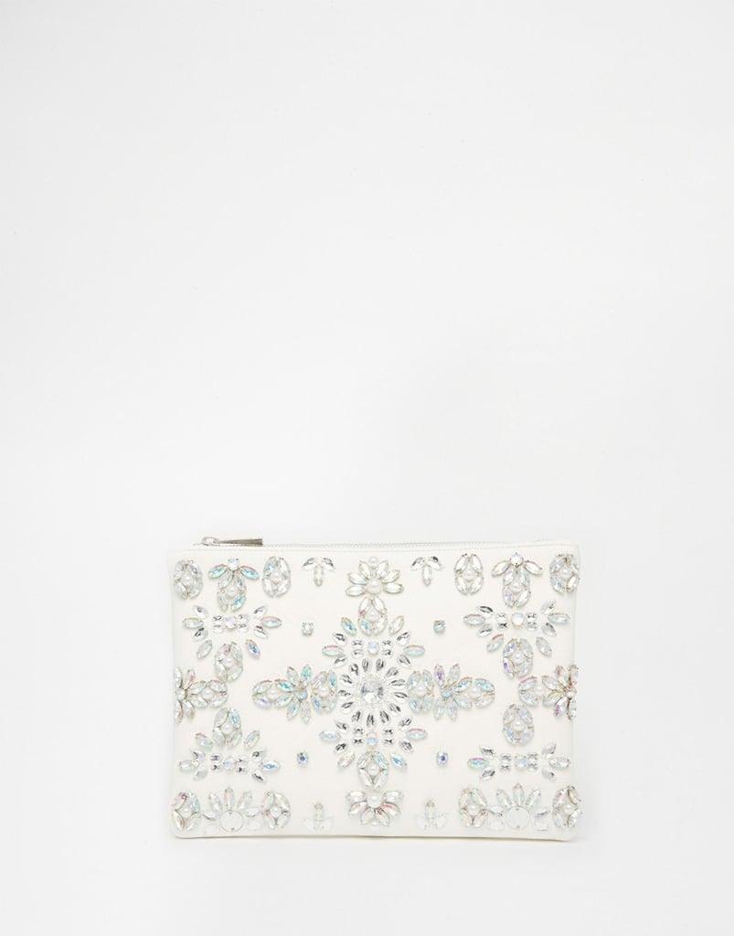Asos Bridal Jewel and Pearl Clutch Bag ($54)