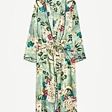 Mix it up and opt for a fun, green print instead of a solid with this Zara Kimono ($129).