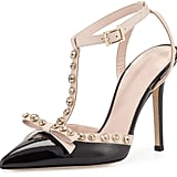 Kate Spade Lydia Studded Patent Heels ($378)