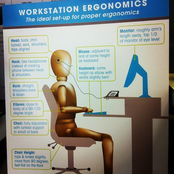 How to Make an Ergonomic Office