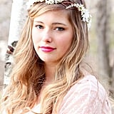 Bohemian brides, look no further. This white garland crown ($48) will give you the ethereal look you've always wanted for your wedding day. The adjustable ribbon on the back also means the headpiece will fit around any wedding hairstyle.