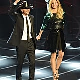 Faith Hill and Tim McGraw took the stage in Vegas.