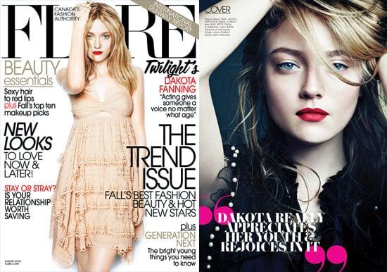 "Dakota Fanning Says Kristen Stewart, Her Onscreen Enemy, Is Her Real-Life ""Best Friend"" 2010-07-13 20:30:05"