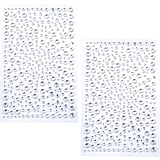 Amazon Self-Adhesive Bling Rhinestone Stickers
