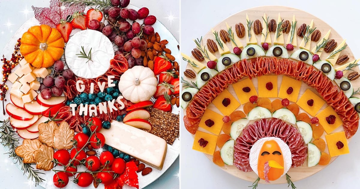 31 Thanksgiving Charcuterie Boards So Pretty, You'll Want to Gobble Them Up