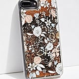 Floral Glitter Bomb Phone Case