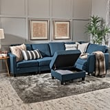 Christopher Knight Home Zahra Fabric Sofa Sectional