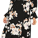 Floerns Floral Print Dress