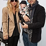 """Rachel Zoe Makes a Red Carpet Appearance With Skyler and Rodger by Her Side and Sings the Praises of """"Supermom"""" Jennifer Garner"""
