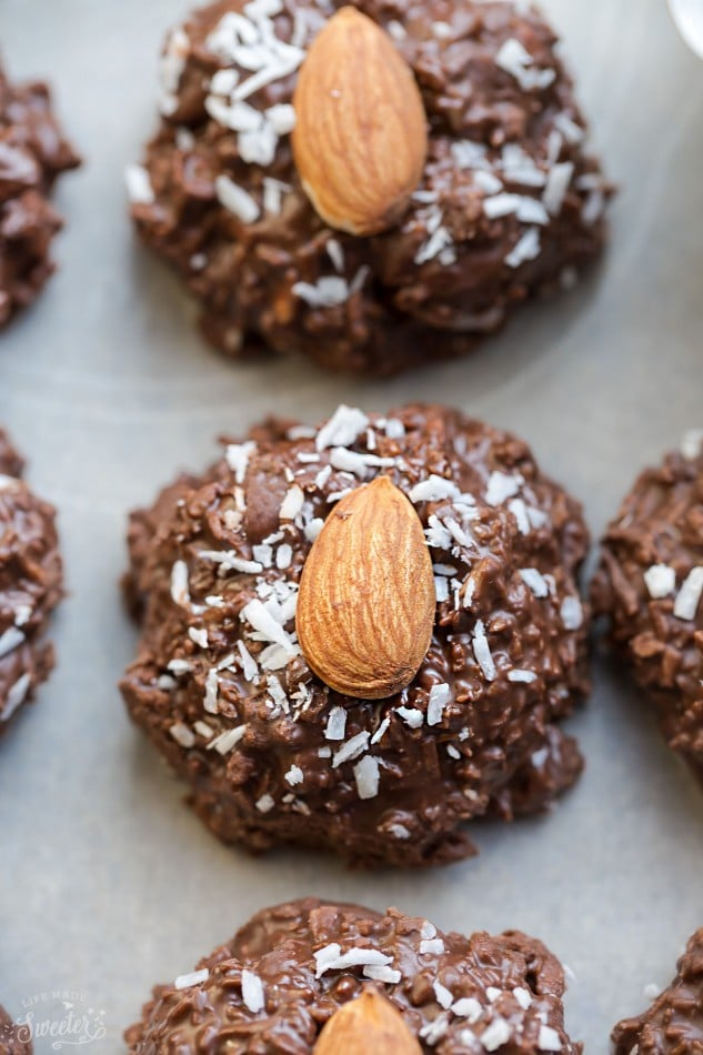 Slow-Cooker Almond Joy Patties