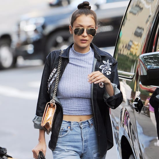 Bella Hadid Wearing Crop Tops