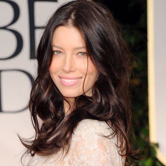 Jessica Biel's 2012 Golden Globes Hair and Makeup Look