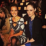 Shameless plug: two of our editors bonded over the fact that they were both seated in the background of this Instagram! Source: Instagram user cocorocha