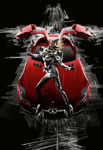 Gareth Pugh and Nick Knight Create Mercedes Car Ad Campaign