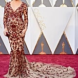 Chrissy's Gorgeous Gown on the Red Carpet