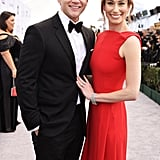 Allen Leech and Jessica Blair Herman