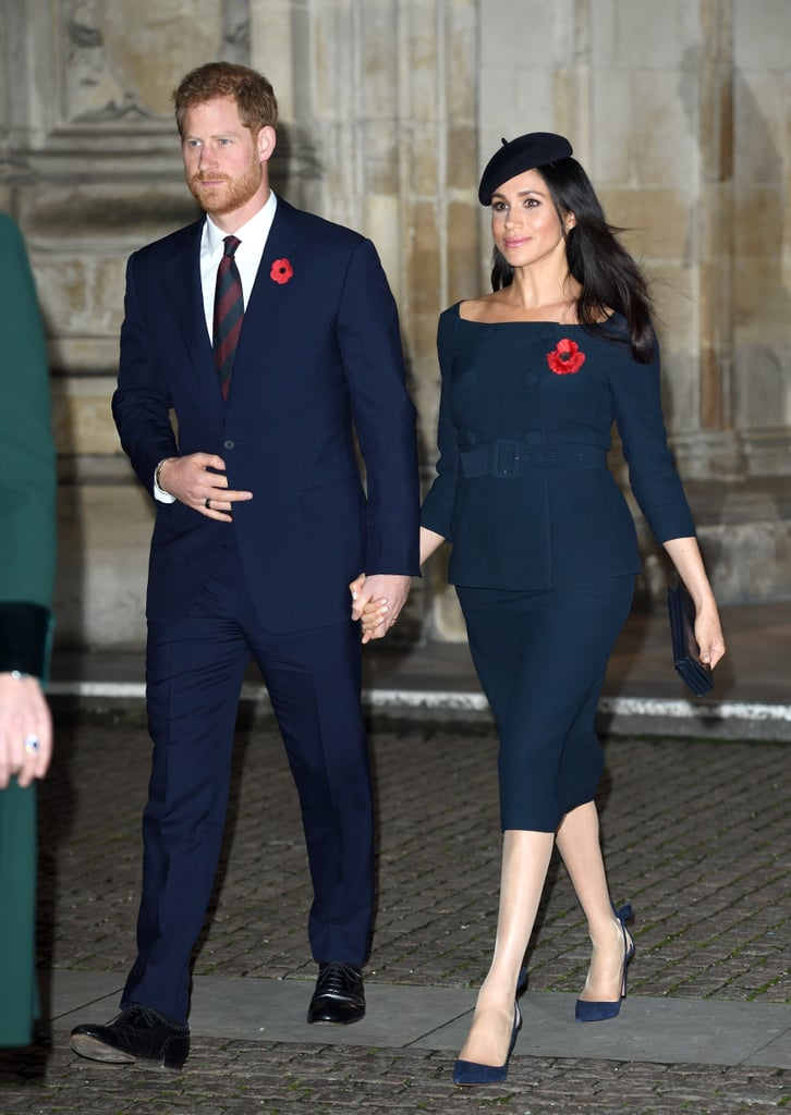 The Fab Four Made Their Way Back to Kate and William's Wedding Venue For Remembrance Day