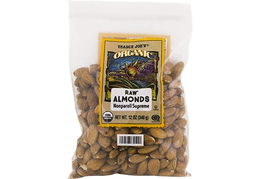 Organic Raw Almonds ($8)