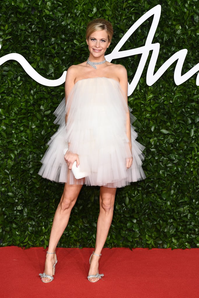 Poppy Delevingne at the British Fashion Awards 2019