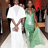 Pictured: Danai Gurira and Lupita Nyong'o