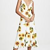 Farm Rio Sunflower Midi Dress