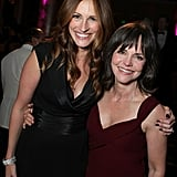 Julia reunited with her Steel Magnolias costar Sally Field at the American Cinematheque Awards in 2007.