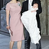 Sweden's Crown Princess Victoria Christens Baby Estelle