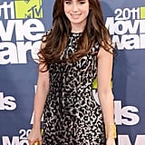 Lily Collins Gets the MTV Movie Awards Red Carpet Started!
