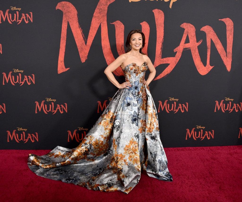 مينغ-نا وين في العرض العالمي الأول لفيلم مولان في لوس أنجلوس