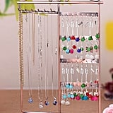 Vintage Jewelry Storage Rack