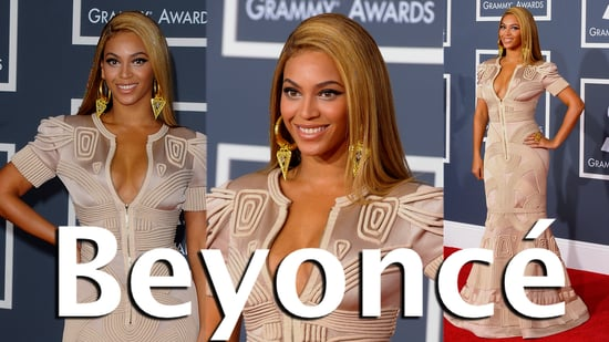 Beyonce, 2010 Grammy Awards fashion, Stephane Rolland, Celeb Style, Red Carpet, 2010 Grammy, Grammy Awards, Fashion, Beyonce Vid