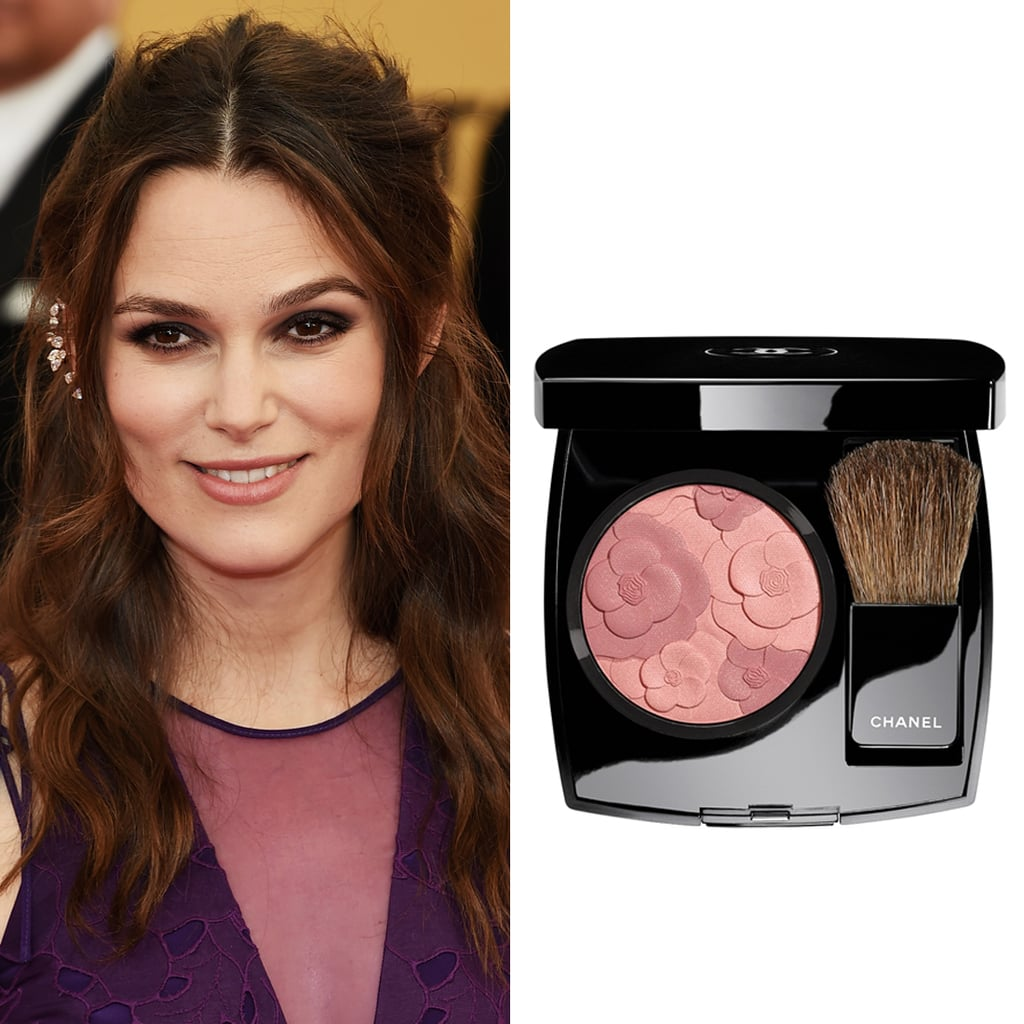 Keira knightley at the sag awards celebrity beauty for Jardin de chanel blush 2015 kaufen