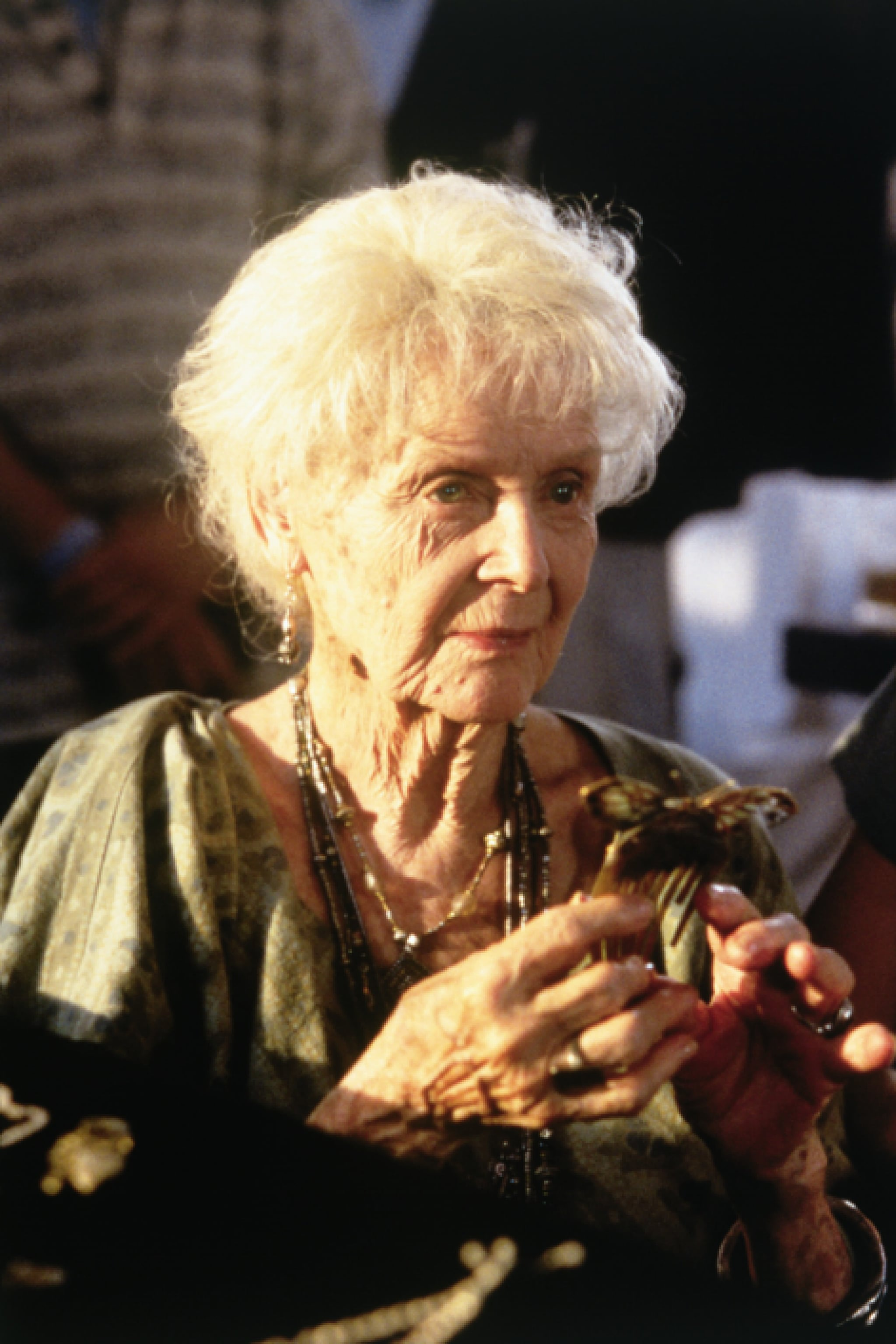 Gloria Stuart in Titanic.