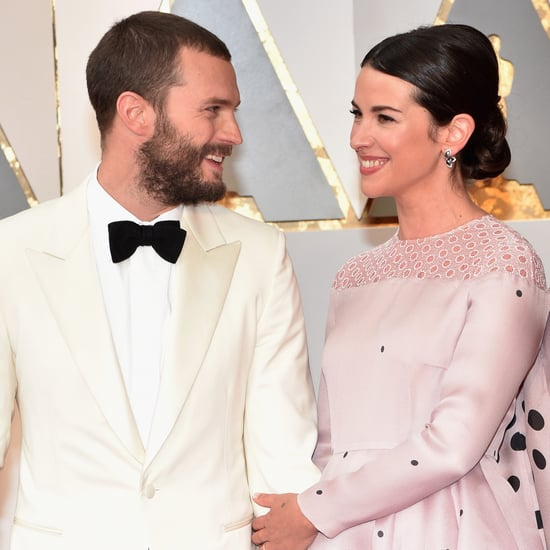 Jamie Dornan and Amelia Warner at the 2017 Oscars