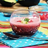 Blueberry-Watermelon Gazpacho