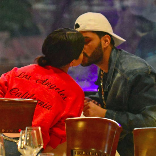 Selena Gomez and The Weeknd Kissing in Italy January 2017